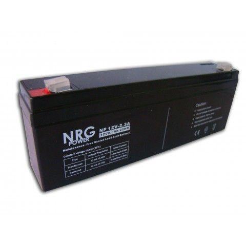 ΜΠΑΤΑΡΙΑ NRG POWER 12V/2.3Ah