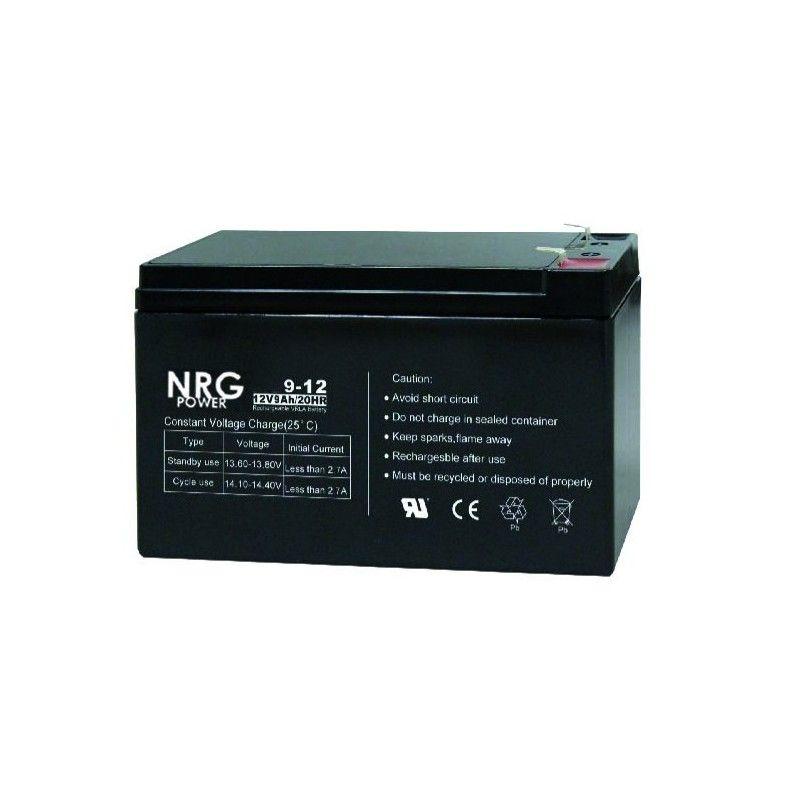 ΜΠΑΤΑΡΙΑ NRG POWER 12V/9Ah