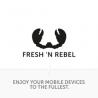 Fresh 'n Rebel FLOW IN EAR HEADPHONES RUBY RED
