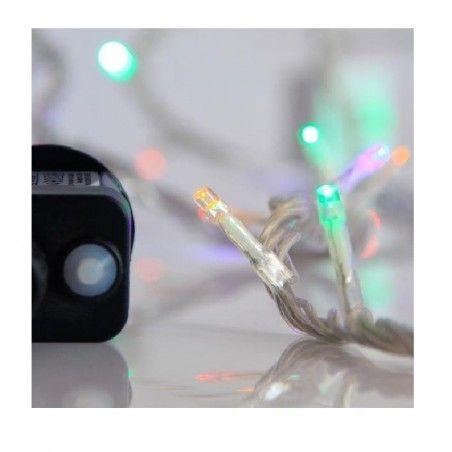 EUROLAMP 240 LED, 8 ΠΡΟΓΡΑΜΜΑΤΑ, ΔΙΑΦΑΝΟ ΚΑΛΩΔΙΟ, ΧΡΩΜΑΤΙΣΤΟ LED ΑΝΑ 5cm, ΙΡ44, 600-11582