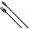 ΚΑΛΩΔΙΟ YENKEE DATA USB / TYPE C 1m ΜΑΥΡΟ YCU 301 BK
