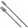 ΚΑΛΩΔΙΟ YENKEE DATA USB / TYPE C 1m ΓΚΡΙ YCU 301 GY