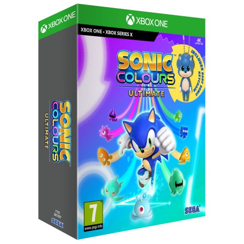 Sonic Colours Ultimate Limited Edition XB1