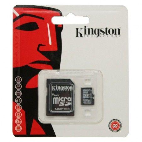 KINGSTON MEMORY CARD 16 GB WITH ADAPTOR ΚΑΡΤΑ ΜΝΗΜΗΣ 16GB ΜΕ ΠΡΟΣΑΡΜΟΓΕΑ