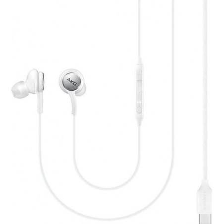 SAMSUNG EO-IC100 IN-EAR HANDSFREE ΜΕ ΒΥΣΜΑ USB-C ΛΕΥΚΑ