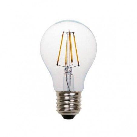 EUROLAMP ΛΑΜΠΑ LED FILAMENT 8W E27 2700K 220-240V CLEAR