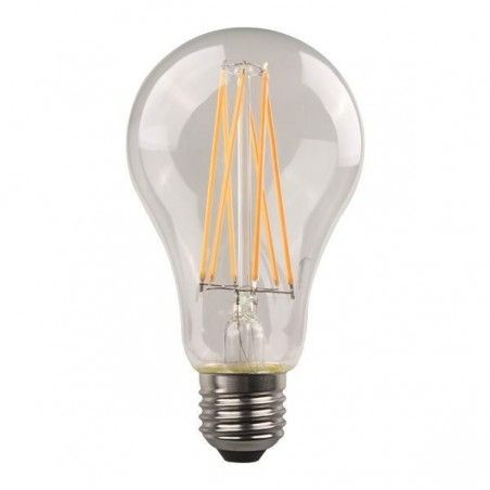 ΛΑΜΠΑ LED FILAMENT 8W E27 2700K 220-240V CLEAR 147-78023