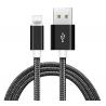 ΚΑΛΩΔΙΟ ΦΟΡΤΙΣΗΣ USB ΣΕ Lightning 3m ΜΑΥΡΟ