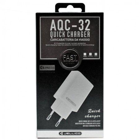 ΦΟΡΤΙΣΤΗΣ JELLICO AQC-32 QUICK CHARGER 3.0