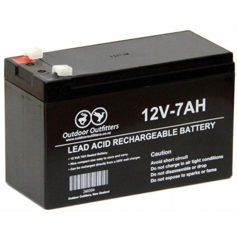 REAL BATTERY 12V - 7Ah