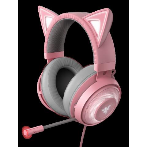 Razer KRAKEN KITTY QUARTZ - Chroma USB Gaming Headset