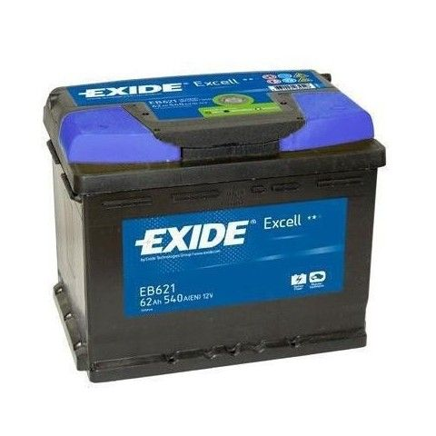 ΜΠΑΤΑΡΙΑ ΑΥΤΟΚΙΝΗΤΟΥ EXIDE EXCELL 12V 62Ah 540A EN ΕΚΚΙΝΗΣΗΣ