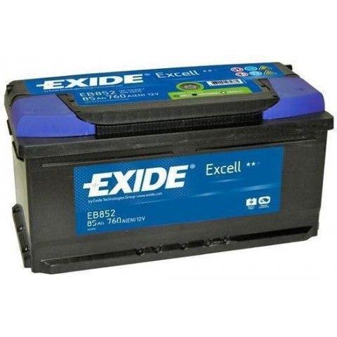 ΜΠΑΤΑΡΙΑ ΑΥΤΟΚΙΝΗΤΟΥ EXIDE EXCELL 12V 85Ah 760A EN ΕΚΚΙΝΗΣΗΣ