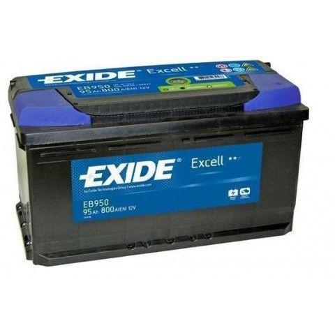 ΜΠΑΤΑΡΙΑ ΑΥΤΟΚΙΝΗΤΟΥ EXIDE EXCELL 12V 95Ah 800A EN ΕΚΚΙΝΗΣΗΣ