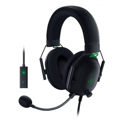 Razer BLACKSHARK V2 Gaming Headset & USB Audio Card - 7.1 THX - PC/PS4/PS5