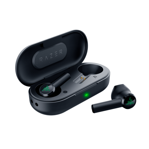 Razer HAMMERHEAD TRUE WIRELESS - Bluetooth 5 - Water Resistance Earbuds & Charging Case
