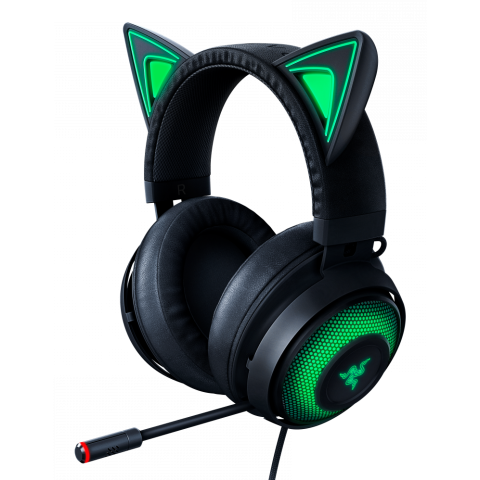 Razer KRAKEN KITTY BLACK - Chroma USB Gaming Headset