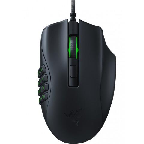 Razer NAGA X - Wired MMORPG Gaming  Mouse - Optical - RGB