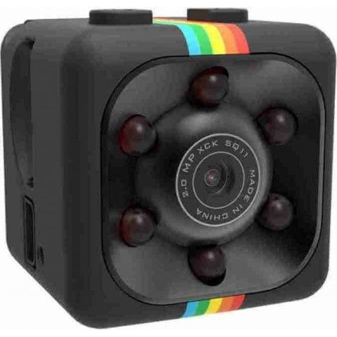 SQ11 Super Mini Car/Drone DVR (BLACK)