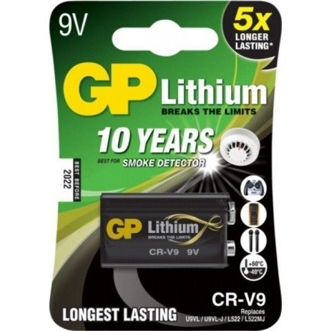 Battery CR-V9 photo-cell (lithium) GP
