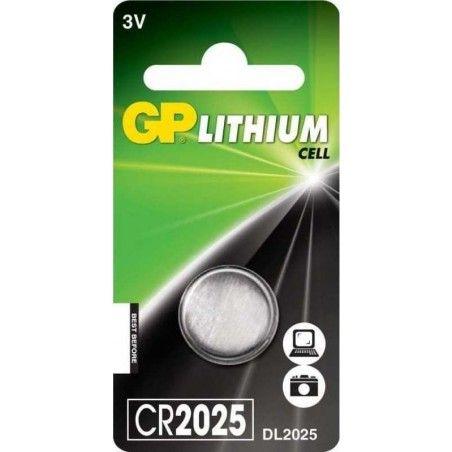 GP CR2025 ΜΠΑΤΑΡΙΑ ΛΙΘΙΟΥ 3V