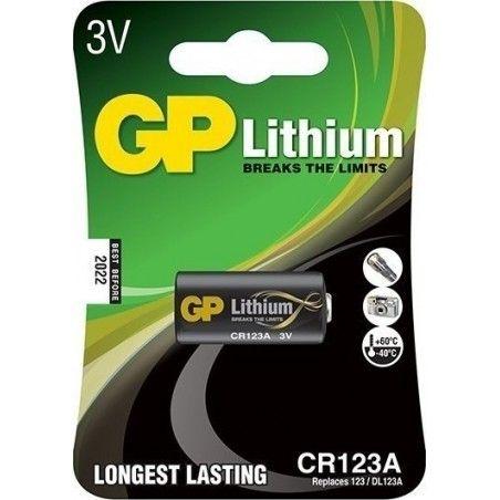 ΜΠΑΤΑΡΙΑ GP ΛΙΘΙΟΥ Li-Ion CR123A
