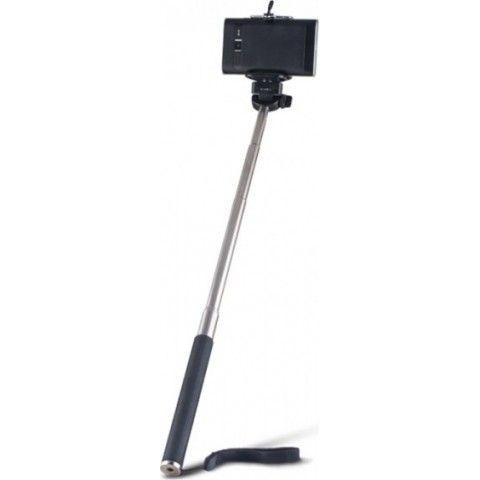 SELFIE STICK OEM MONOPOD ΠΤΥΣΟΜΕΝΟ ΜΠΑΣΤΟΥΝΙ ΚΑΜΕΡΑΣ ΜΕ ΚΟΥΜΠΙ Black (3.5mm Cable)