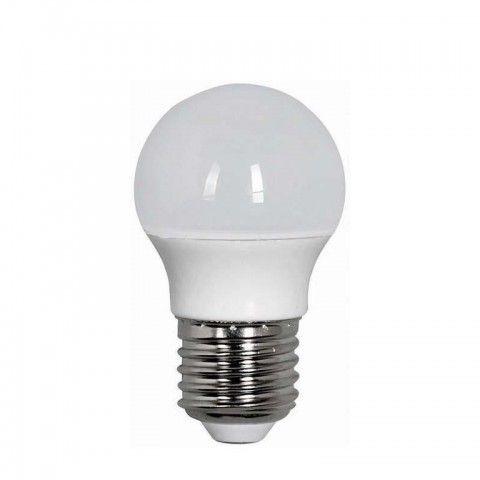 EUROLAMP LED ΛΑΜΠΑ 7w E27 G45 4000k 147-80238