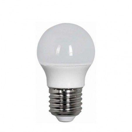 EUROLAMP ΛΑΜΠΑ LED ΣΦΑΙΡΙΚΗ 7W Ε27 4000K 220-240V 147-80238