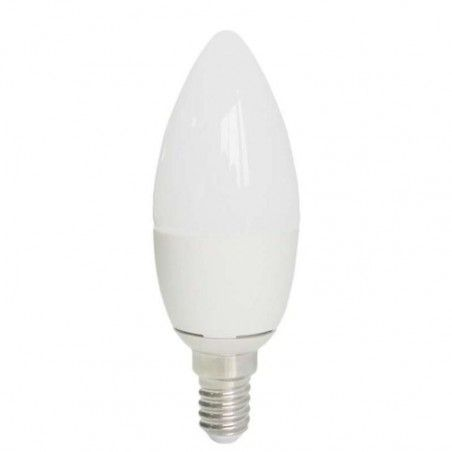 EUROLAMP LED ΛΑΜΠΑ 7W E14 C37 4000k 147-80225
