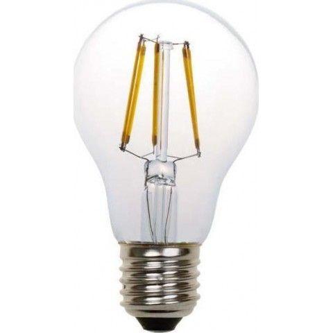 EUROLAMP ΛΑΜΠΑ LED FILAMENT 4W 480LM E27 6500K 147-81100