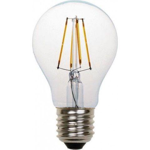 EUROLAMP ΛΑΜΠΑ LED FILAMENT 4W 480LM E27 2700K 147-81110